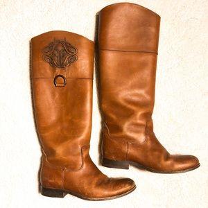 Frye Melissa Logo Boots